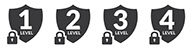 Riteway's most secure checks are prismatic checks and they have up to 12 features of security